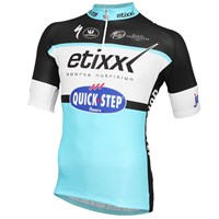 Etixx-Quick Step korte mouw shirt