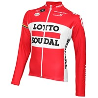 Lotto-Soudal lange mouw shirt