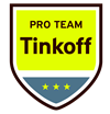 Wielershirts Tinkoff